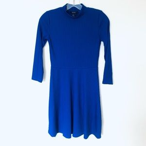 Forever 21 Cobalt Blue Knit Dress Size Small